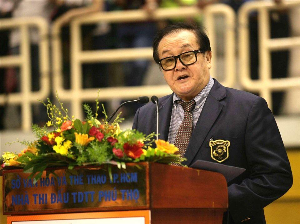 Ông Hoàng Vĩnh Giang - Phó Chủ tịch Uỷ ban Olympic VN qua đời ở tuổi 75