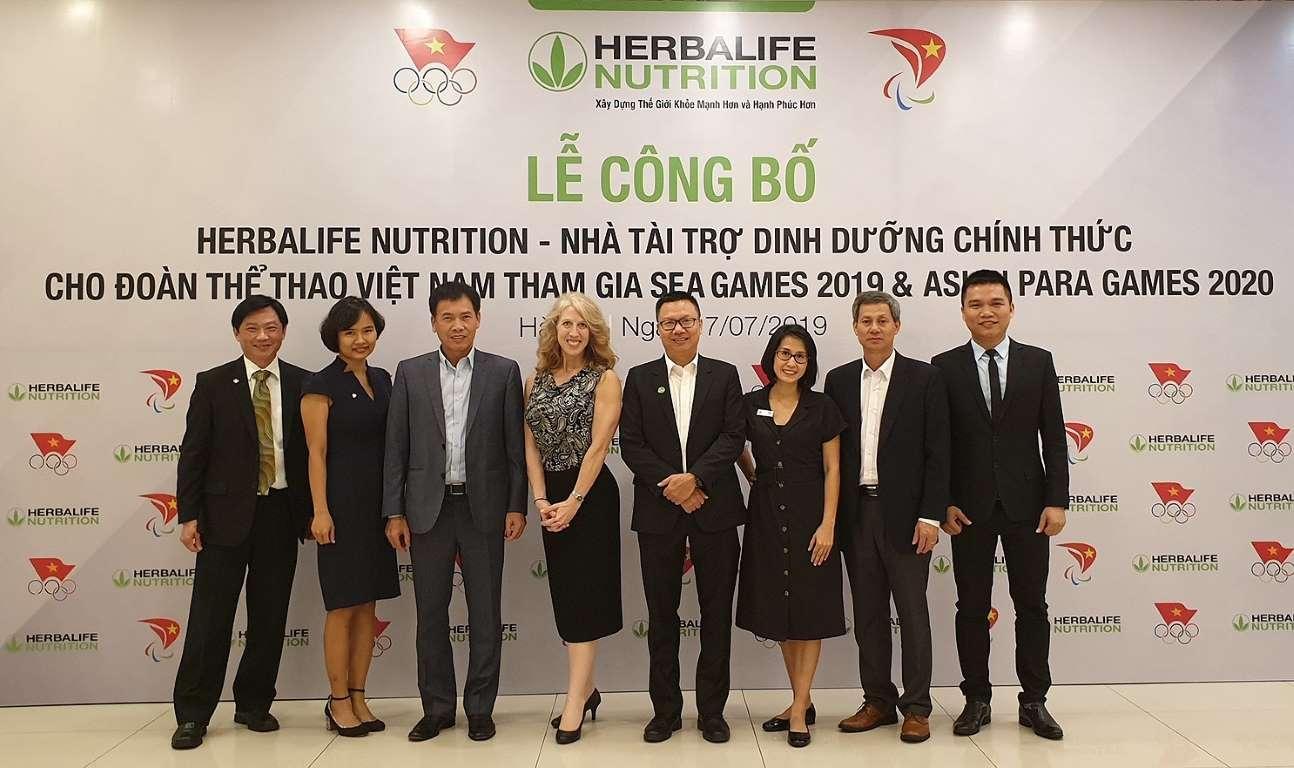 Tập đoàn dinh dưỡng Herbalife Nutrition gắn bó lâu dài cùng thể thao Việt Nam