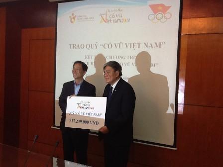 Doanh nghiệp đồng hành cùng thể thao Việt Nam