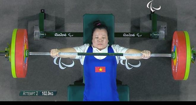Nữ đô cử Đặng Thị Linh Phượng giành HCĐ Paralympic Rio 2016