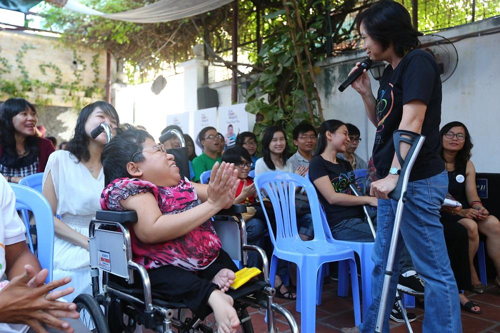 Paralympic chào mừng Ngày người khuyết tật Việt Nam