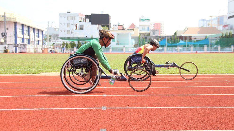 500 vận động viên người khuyết tật tranh tài ở giải vô địch toàn quốc