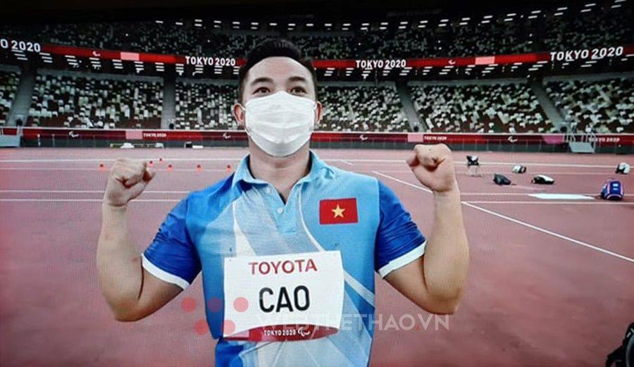 Thành tích cao hơn Rio, Cao Ngọc Hùng vẫn trượt huy chương ném lao F57 Paralympic Tokyo